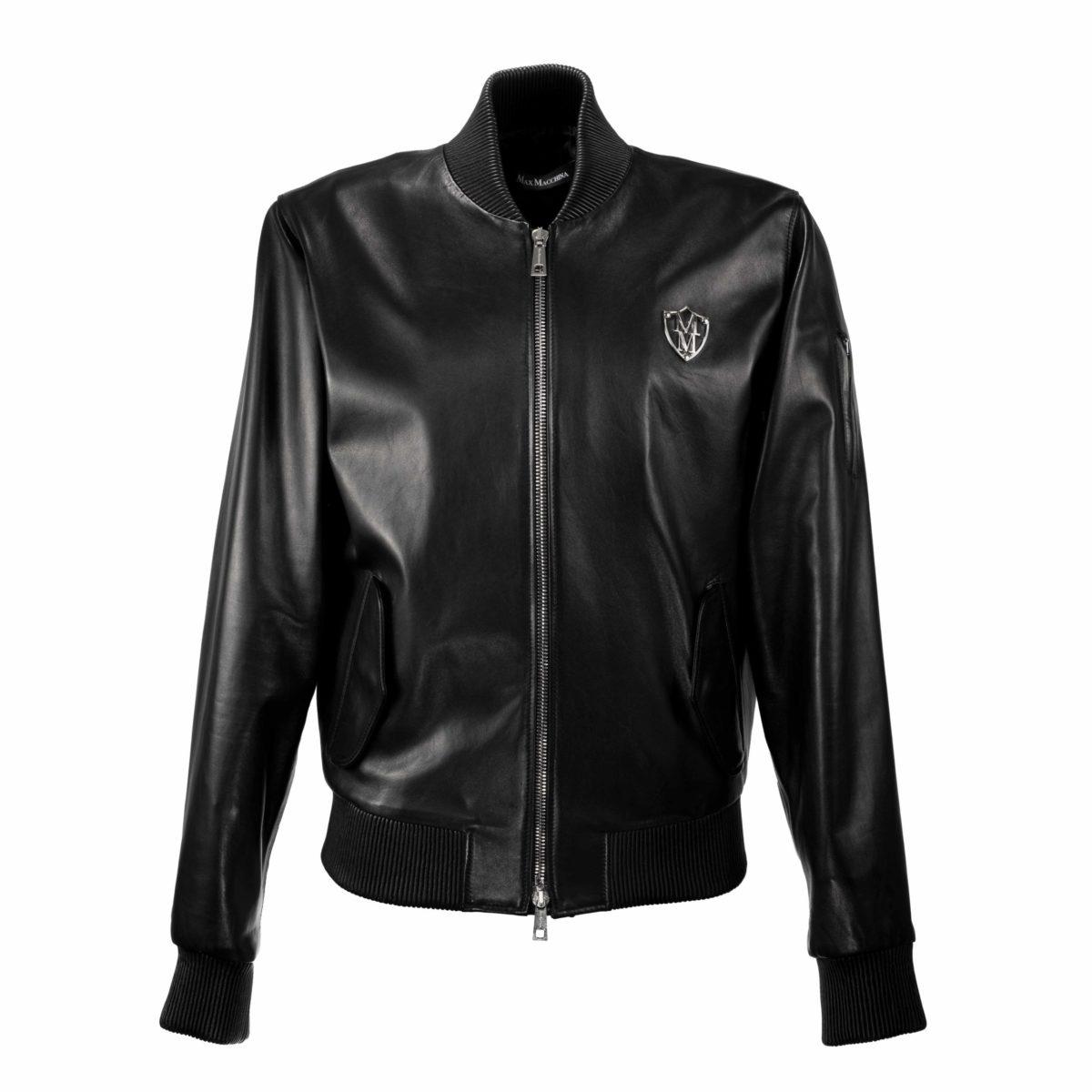 Luxury_Bomber_Leather_Jacket_Rob_Front