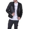 MaxMacchina_Luxury_logo_shirt_black_man_wearing