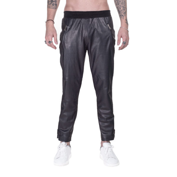 Luxury_Python_Leather_Sweatpant_Richard_Front